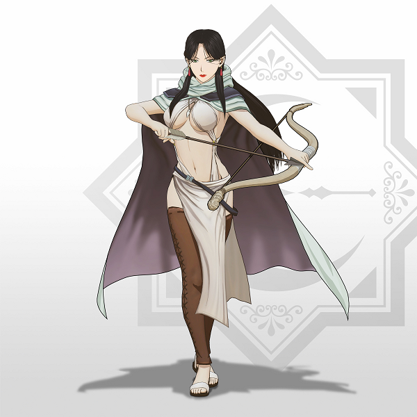 Farangis Cosplay Costume from The Heroic Legend of Arslan