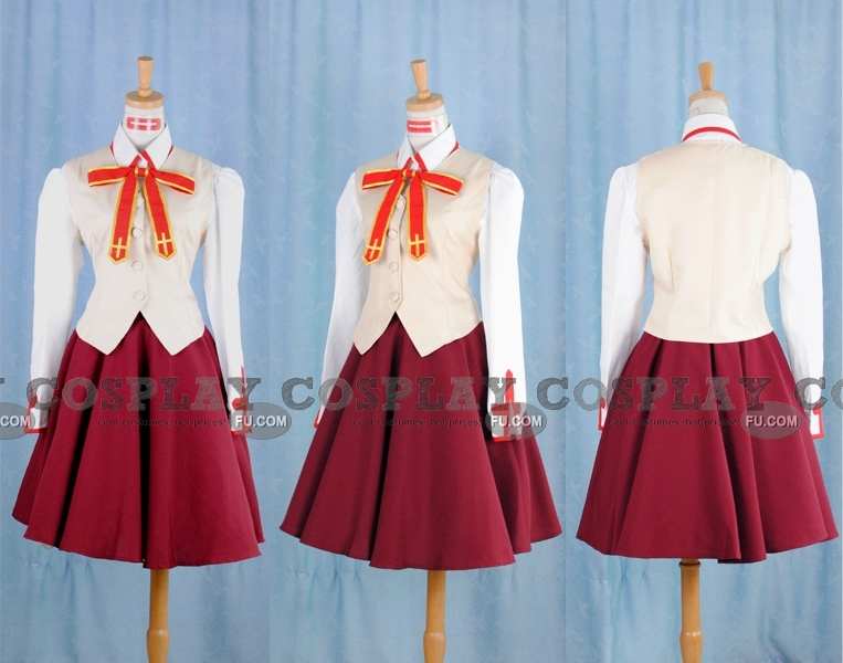 Saber Cosplay Costume (School Girl Uniform) from Fate Stay Night