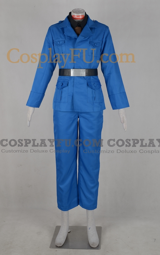 Feliciano Cosplay Costume (North Italy) from Axis Powers Hetalia
