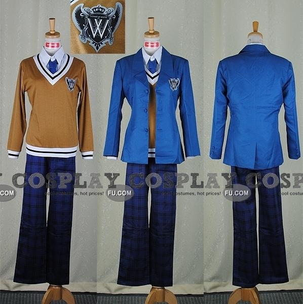 Feliciano Cosplay Costume (Jacket) from Axis Powers Hetalia