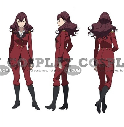 Femieanne Cosplay Costume from Aldnoah.Zero