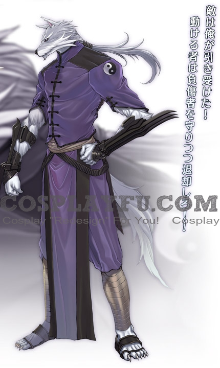 Fenrir Cosplay Costume from Shining Blade