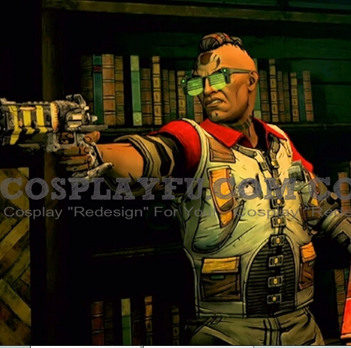 Finch Cosplay Costume from Tales from the Borderlands