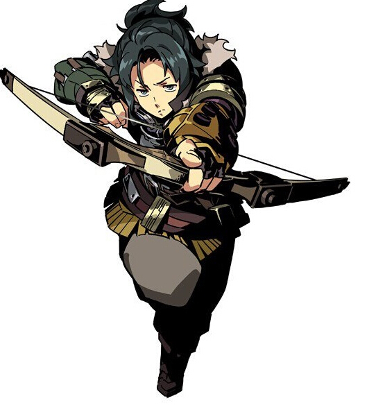 Flavio Cosplay Costume from Etrian Odyssey 2 Untold The Fafnir Knight