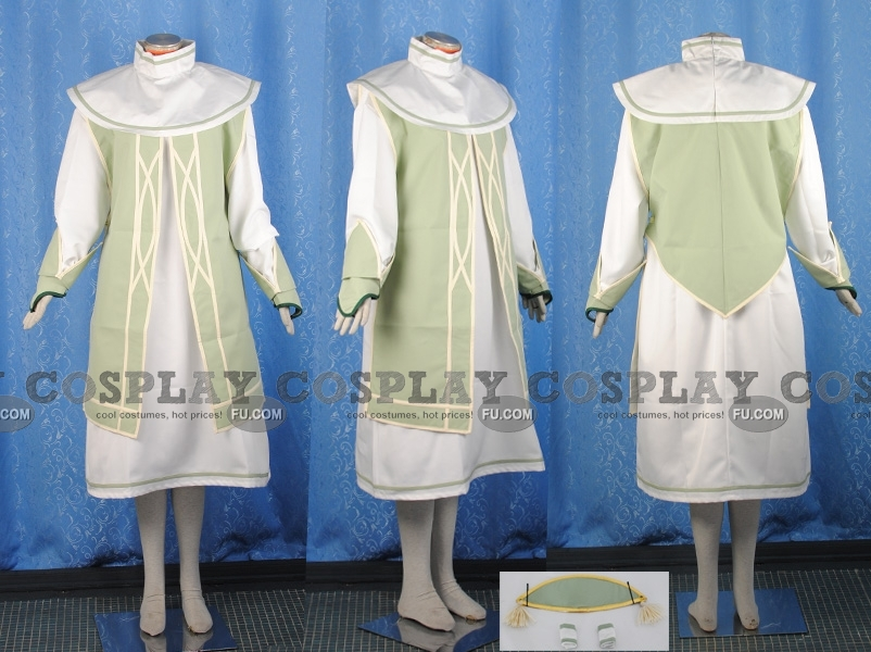 Fon Master Ion Cosplay Costume from Tales of the Abyss