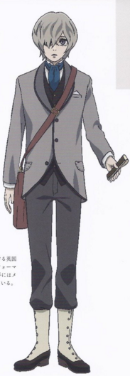 Friday Cosplay Costume (Grey) from The Empire of Corpses