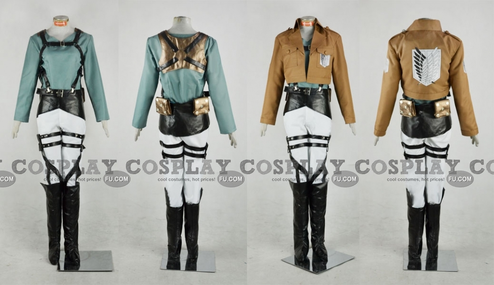 Fubar Cosplay Costume (Survey Corps) from Attack On Titan