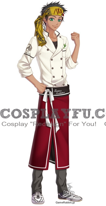 Futa Cosplay Costume from Arcobaleno