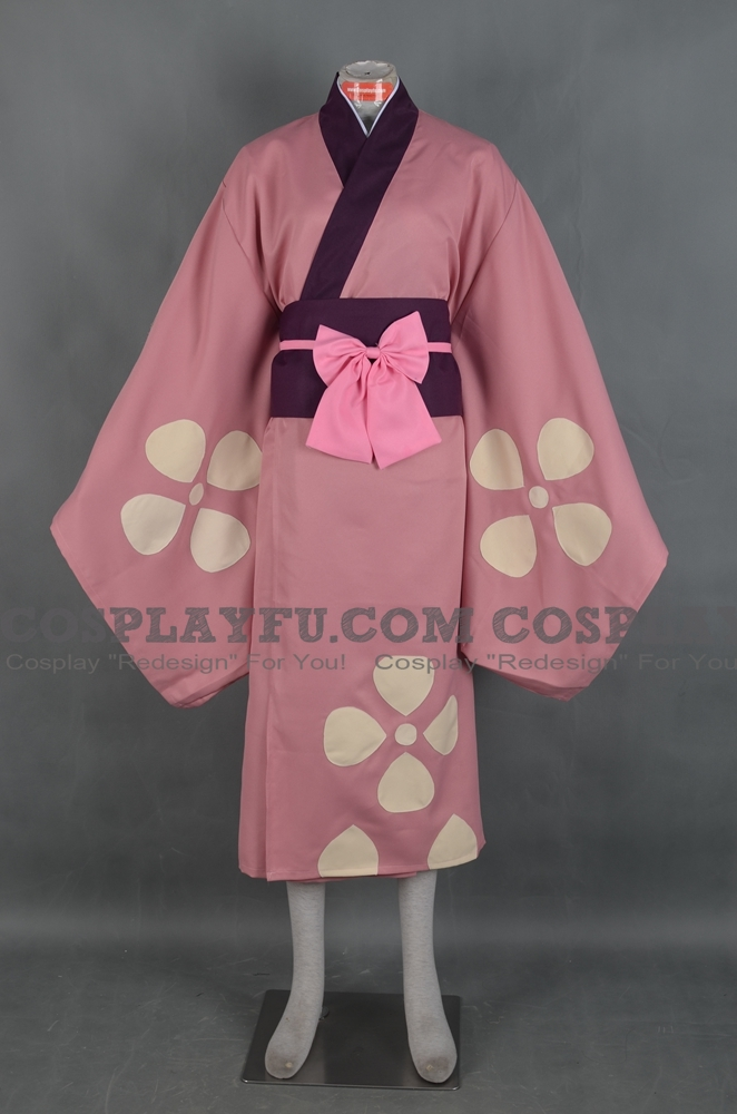Fuu Cosplay Costume from Samurai Champloo