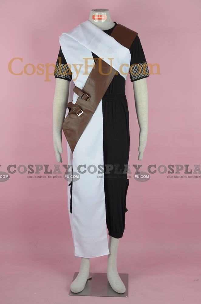 Gaara Cosplay Costume (001-C45) from Naruto
