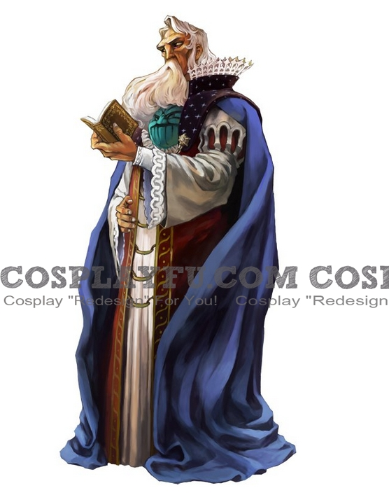 Gammel Dore Cosplay Costume from Grim Grimoire