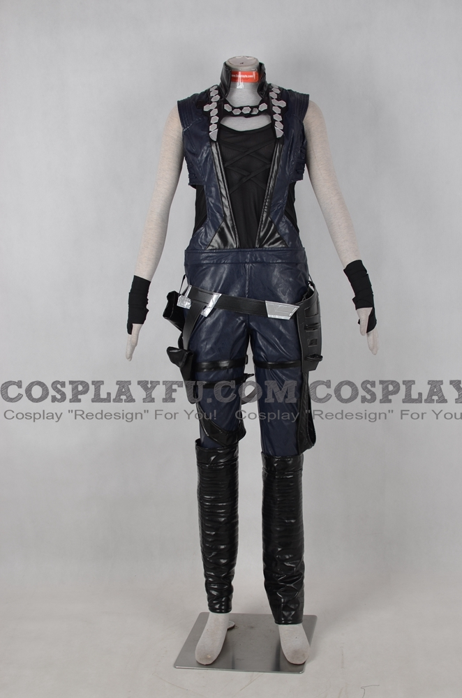 Gamora Cosplay Costume from Guardians of the Galaxy