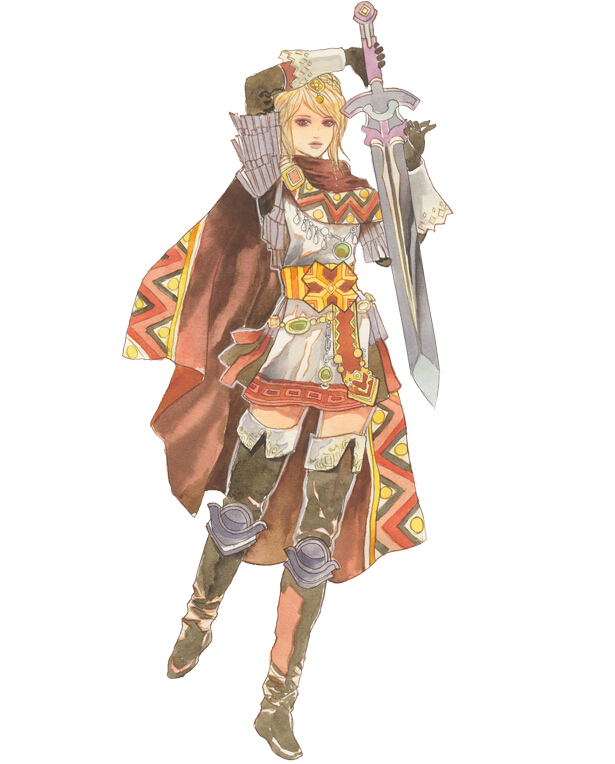 Garnet Cosplay Costume from The Legend of Legacy