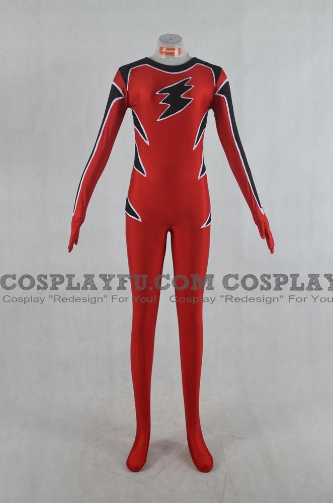 Geki Red Cosplay Costume from Juken Sentai Gekiranger