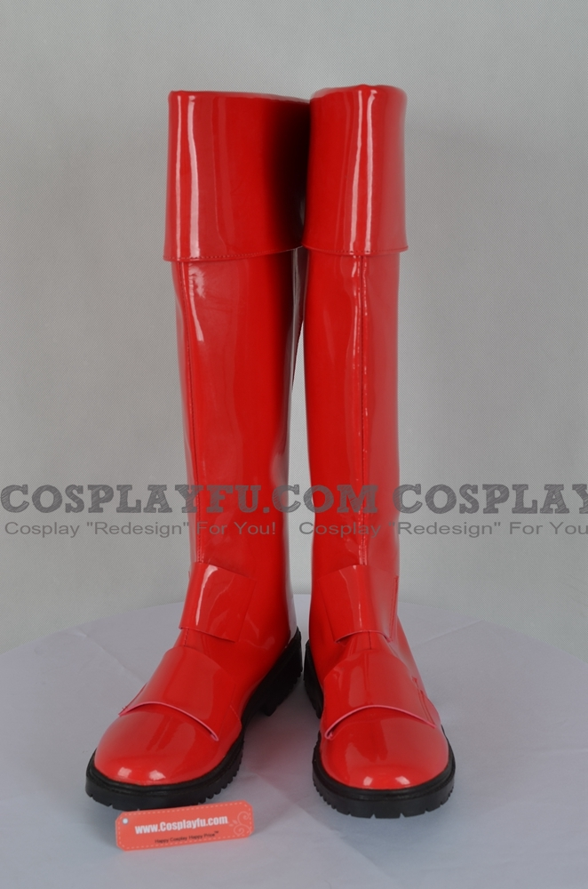 Geki Red Shoes (2nd) from Juken Sentai Gekiranger