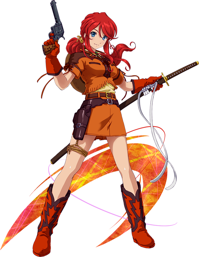 Gemini Sunrise Cosplay Costume from Project X Zone 2 Brave New World
