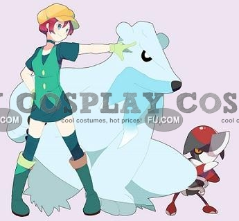 Georgia Cosplay Costume from Pokemon black and white