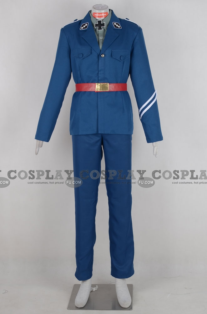 Gilbert Cosplay Costume (Prussia) from Axis Powers Hetalia