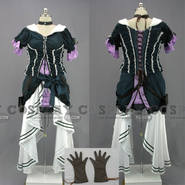 Gillian Cosplay Costume (Lady Maverick) from Assassins Creed