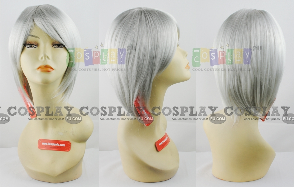 Gin Cosplay Costume Wig from Bleach