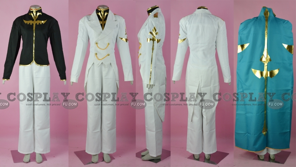 Gino Cosplay Costume from Code Geass