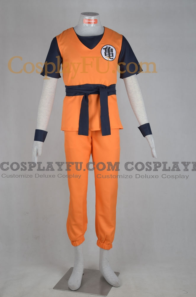 DBZ Goku Cosplay Costume from Dragon Ball
