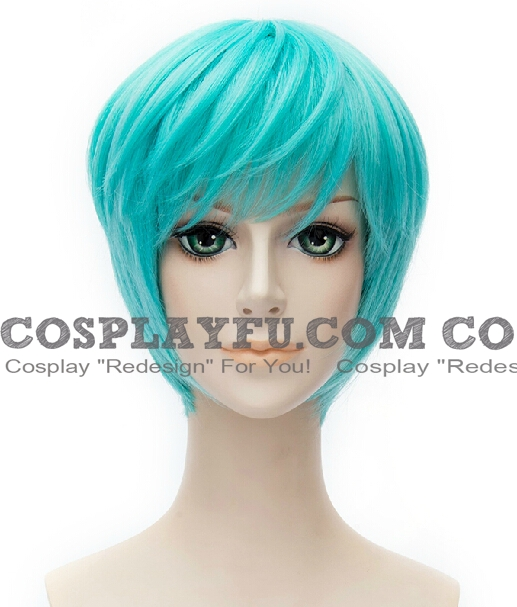 Bulma Leigh wig from Dragon Ball GT