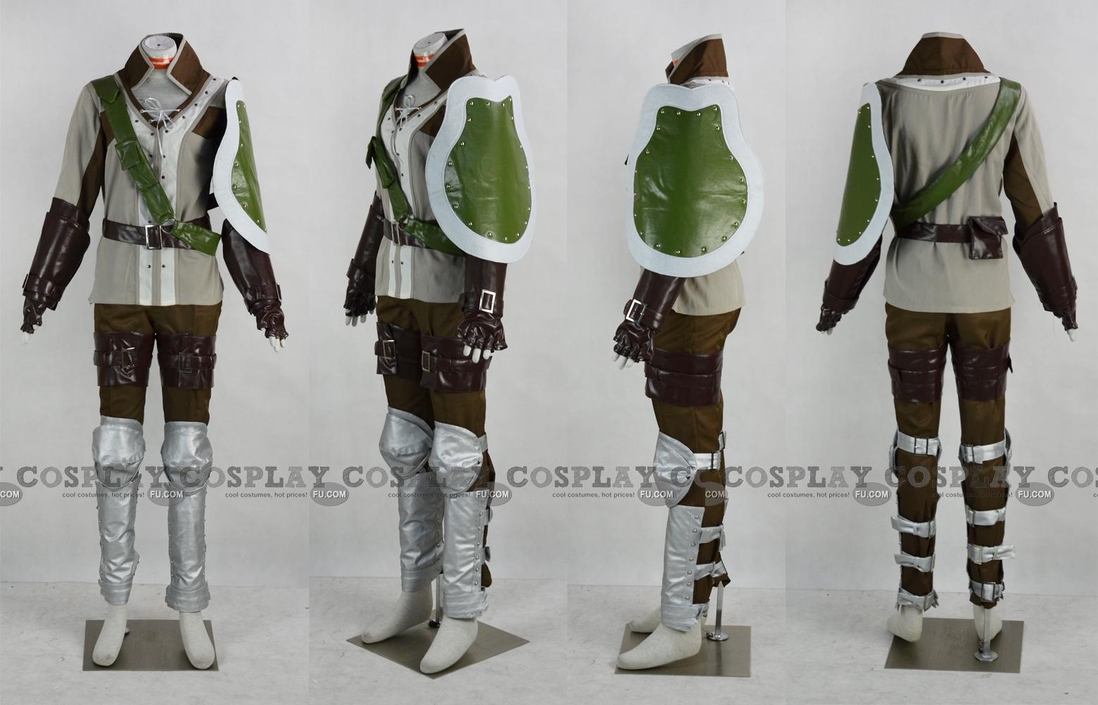Gregor Cosplay Costume from Fire Emblem Awakening