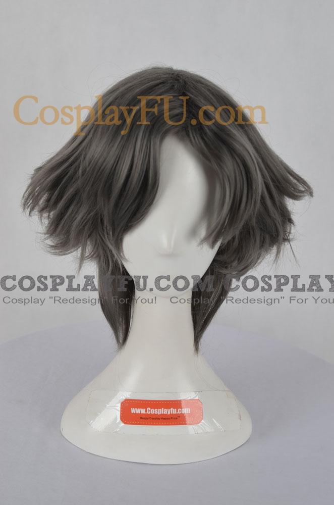 Grey Wig (Short, Straight, Edgeworth)