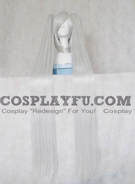 Miku Wig (Light Grey) from Vocaloid