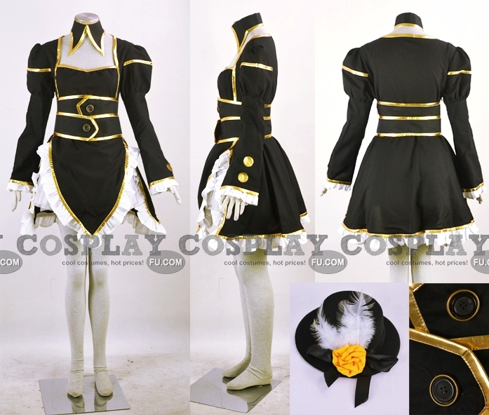 Haou Judai Cosplay Costume (Female Version) from Yu Gi Oh GX