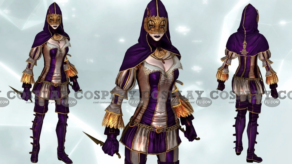 Custom Harlequin Cosplay Costume Female From Assassin S Creed