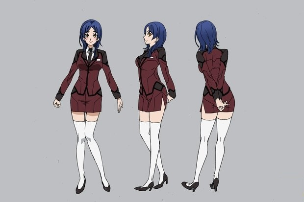 Haruka Cosplay Costume from Active Raid