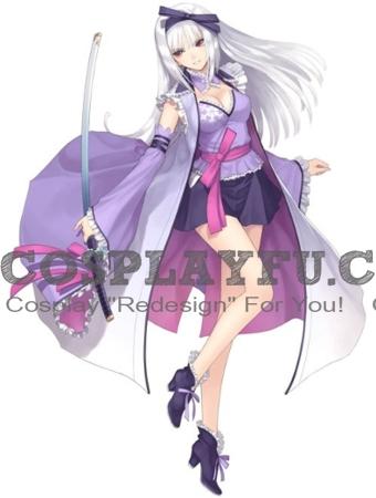 Hayane Fubuki Cosplay Costume from Shining Blade