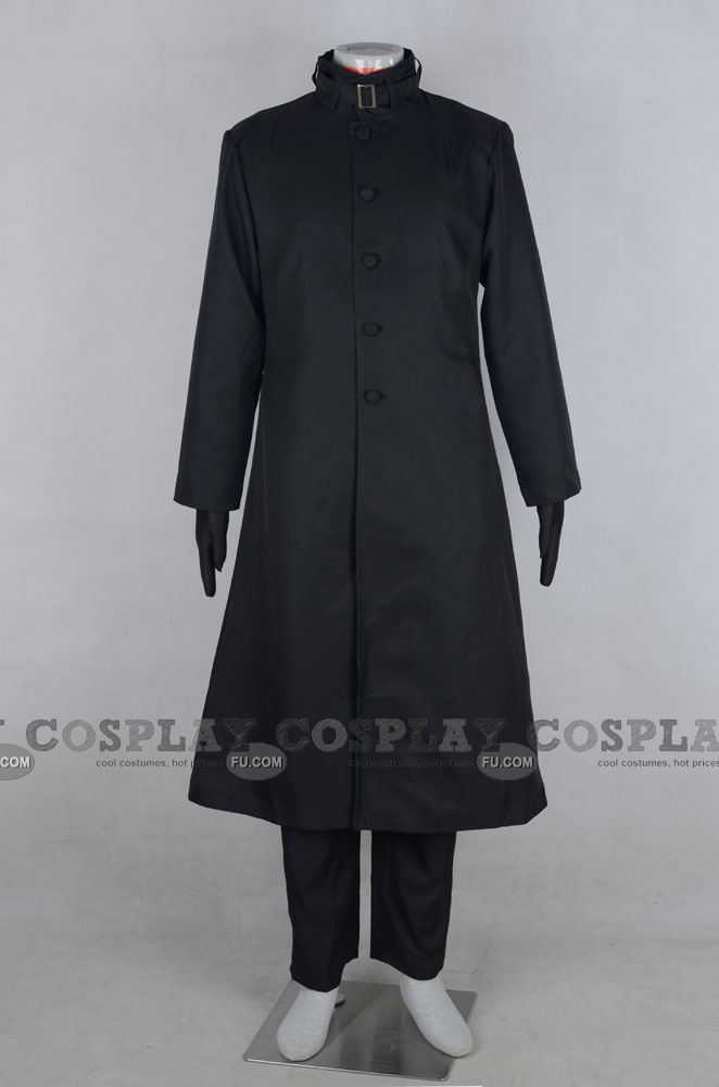 Darker than BLACK Hei Costume (Black Version)