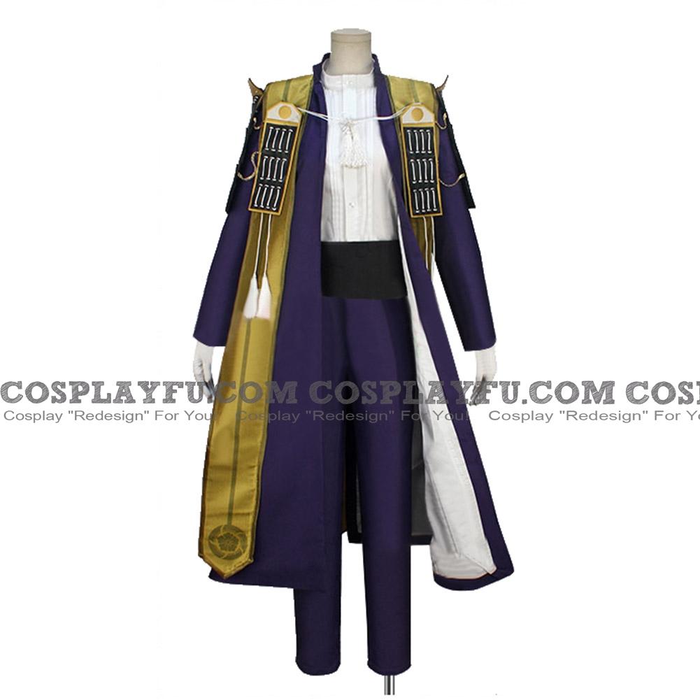 Heshikiri Cosplay Costume from Touken Ranbu