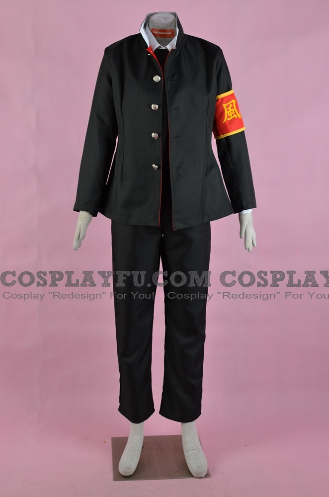 Hibari Cosplay Costume (School Uniform) from Katekyo Hitman Reborn