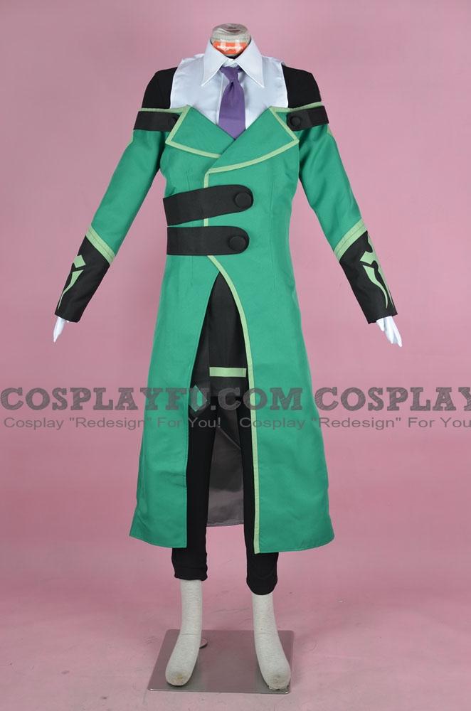 BlazBlue: Calamity Trigger Hibiki Kohaku Disfraz (Verde)