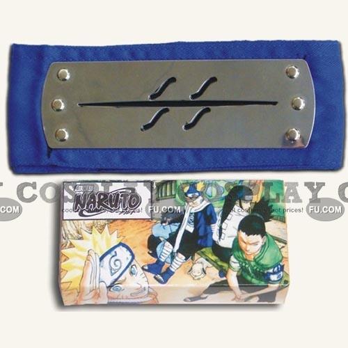Naruto Headband (Blue,Hidden,Mist Village) from Naruto