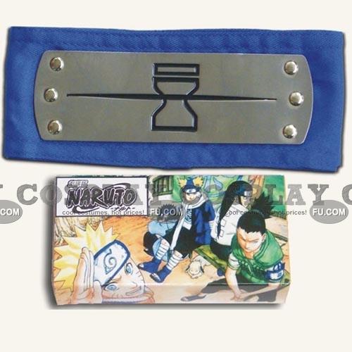 Naruto Headband (Blue,Hidden,Sand Village) from Naruto