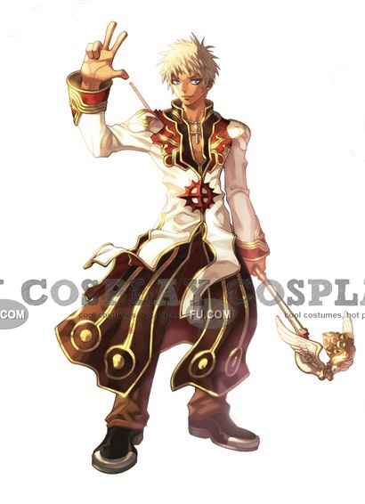 High Priest Cosplay Costume (Male) from Ragnarok Online