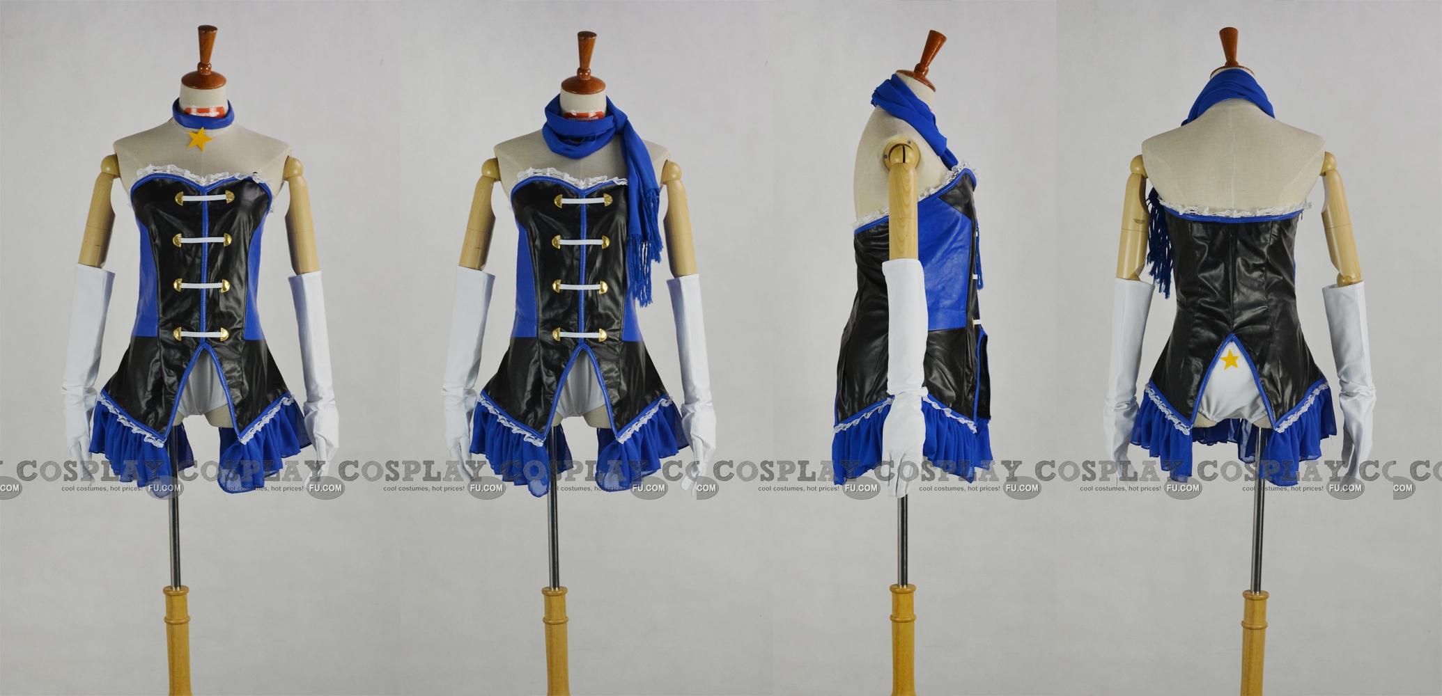 Hikari Cosplay Costume (Blue Version) from Mawaru Penguindrum
