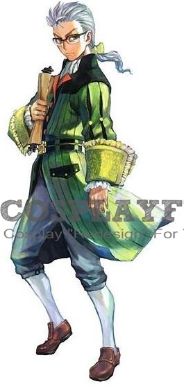 Hiram Menthe Cosplay Costume from Grim Grimoire