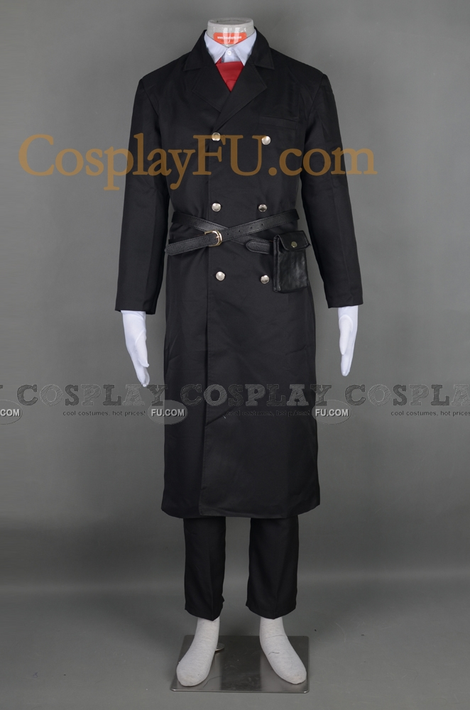 Hirato Cosplay Costume (Black) from Karneval