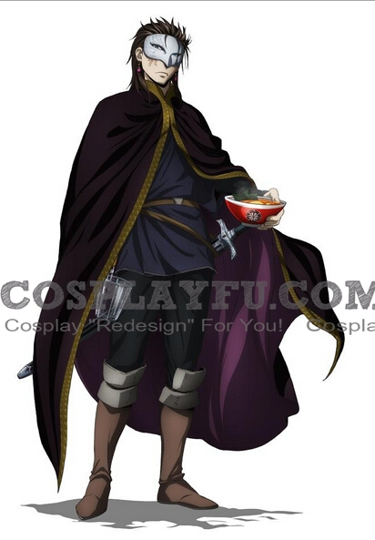 Hirumes Cosplay Costume from The Heroic Legend of Arslan