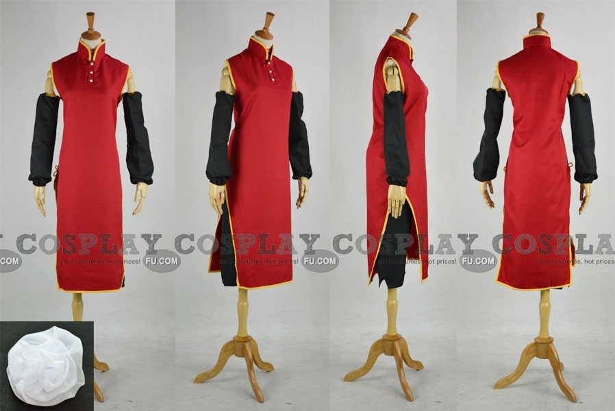 Hong Kong Cosplay Costume (Female Version) from Axis Powers Hetalia