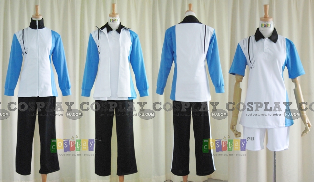 Prince of Tennis Cosplay Costume (Hyotei Set) from Prince of Tennis