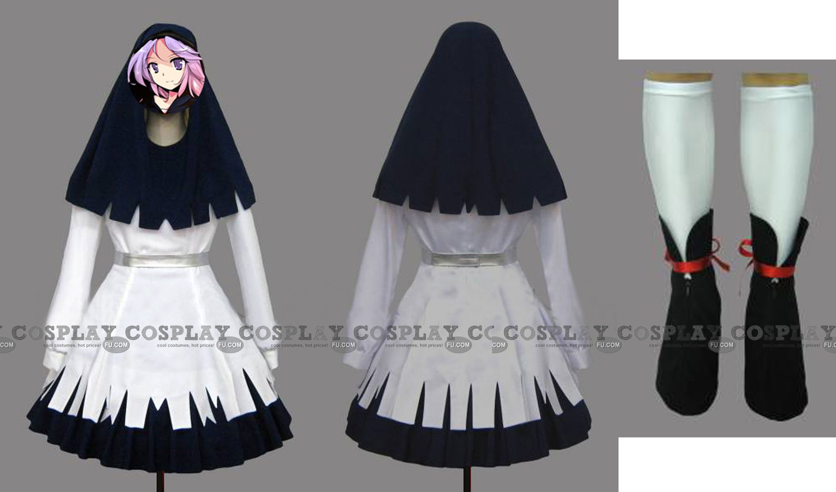 Ichirin Cosplay Costume (Palanquin Ship) from Touhou Project