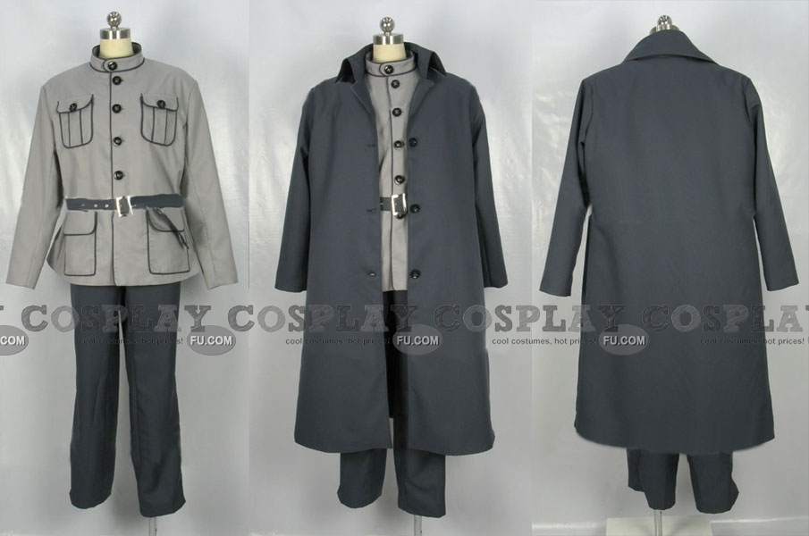 Ibiki Cosplay Costume from Naruto