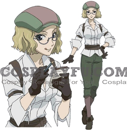 Irene Cosplay Costume from Valkyria Chronicles